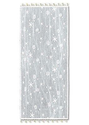 Heritage Lace Table RUNNER Wind Chill 14x48 White