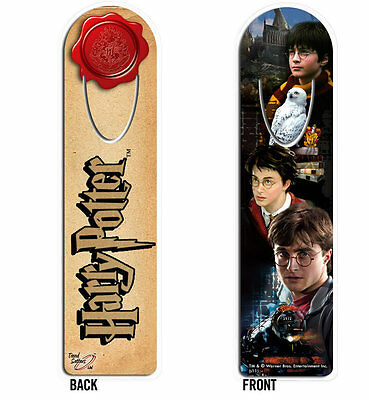 Harry Potter : METAL BOOKMARK feature Harry & Hedwig Collage