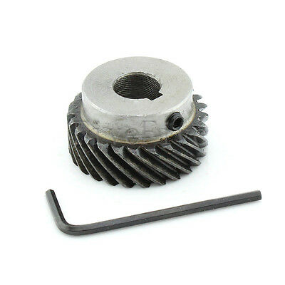 1M 25T 10mm/12mm Bore Module Metal Spiral Bevel Wheel Motor Gear 90° Gearing