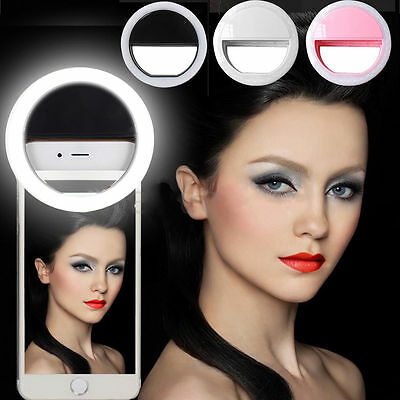 36LED Selfie Ring Fill Light Camera Photography For Android iphone Cell Phone US