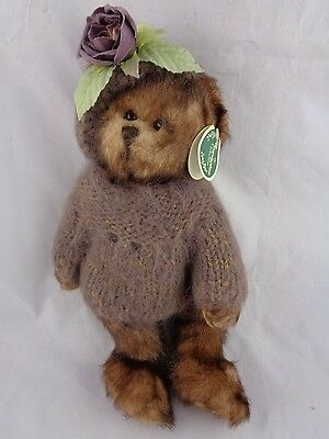 """Bearington Bears Collection """"Colette"""" Plush Bear Retired Rare Collectible Series"""