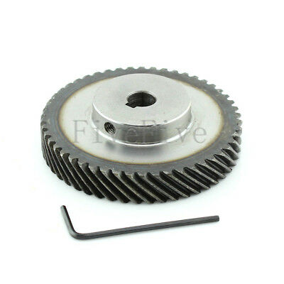 1M 40T 10mm/12mm Bore Module Metal Spiral Bevel Wheel Motor Gear 90° Gearing