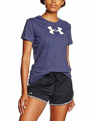 Under Armour-Maglietta da calcio Midnight Navy, taglia: XS (taglia del
