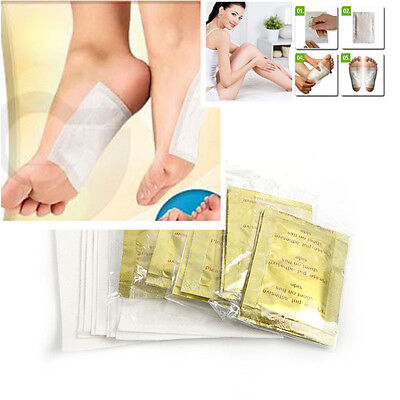 Cool Detox Foot Patch Pads Feet Patches + Adhesive Sheets Remove Body Toxins