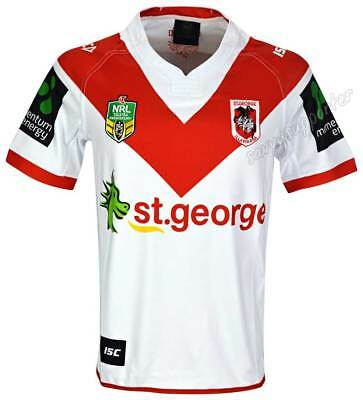 St George Dragons 2017 NRL Home Jersey Adults, Ladies and Kids Available BNWT