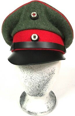Wwi German M1914 Officer Field Crusher Cap-Xlarge
