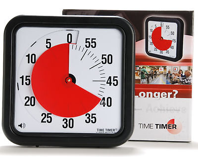 """TIME TIMER 8"""" Visual AUTISM ADHD Aspergers Special Need"""