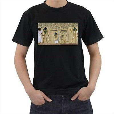 New Egypt Osiris Book of the Dead Black T-shirt Size S-3XL Free Shipping