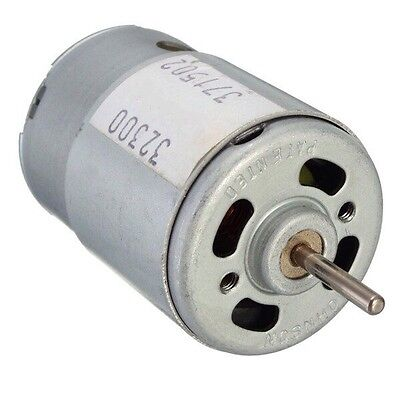12V DC Motor - R/C and Power Wheels - Powerful Fan Cooled High Speed Hobby Motor