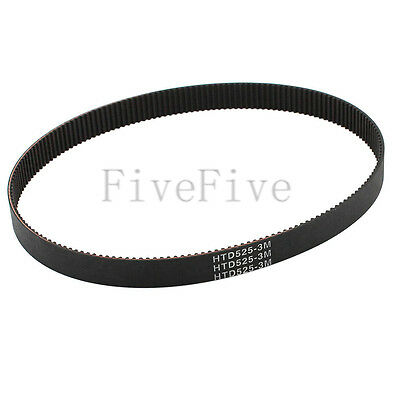 HTD3M-525 Synchronous Wheel Timing Belt 10mm 15mm Width 3mm Pitch 175 Teeth