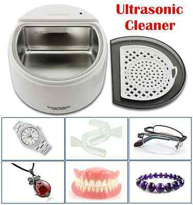 New Multi Purpose Ultrasonic Sonic Wave Cleaner Jewellery Glasses Watch Cleaning