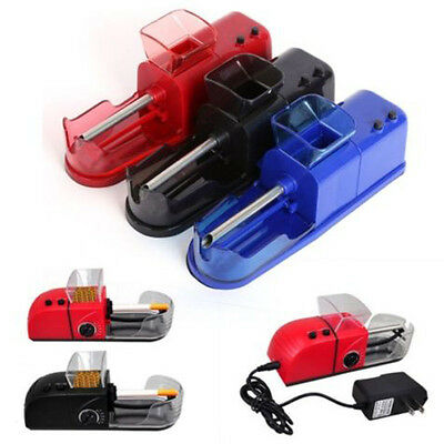 220V Automatic Electric Cigarette Rolling Machine Tobacco Roller Injector Maker