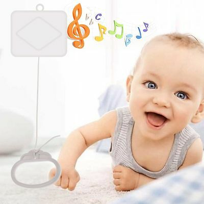 Nursery Songs Pull String Cord Music Box Kids Toy Baby Kid Bed Doll Bell Toy