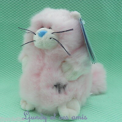 """My Blue Nose Friends N° 105 Peluche CHAT PERSAN *-* PAWS PERSIAN CAT 4"""" 10 cm"""