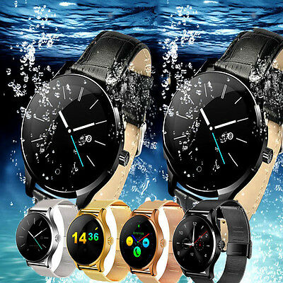 K88H Bluetooth Smart Watch Phone MTK2502 Heart Rate Monitor for iPhone Android