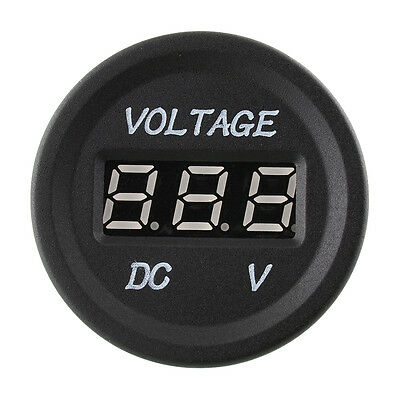 12 To 24 Volt Voltage Meter Car Dual Battery 4X4 4Wd Power Led Socket Display