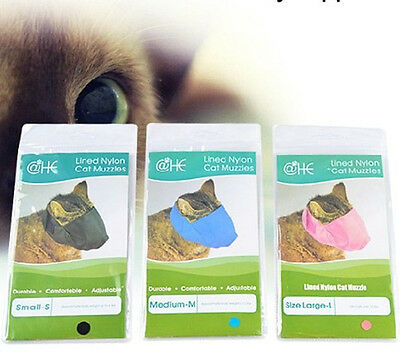 Cat Muzzle for Grooming or upset travelling cats