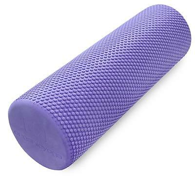 ORGANIC YOGA Non-Slip High-Density Foam Yoga Roller 45 cm