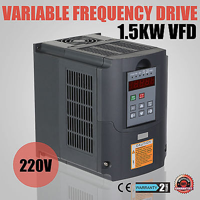 2Hp 1.5Kw Vfd Variateur De Fréquence Inverseur Pid Load Control Well Made
