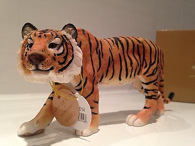 Standing Tiger Ornament Figurine Figure By Leonardo New Gift Present 20cm Long