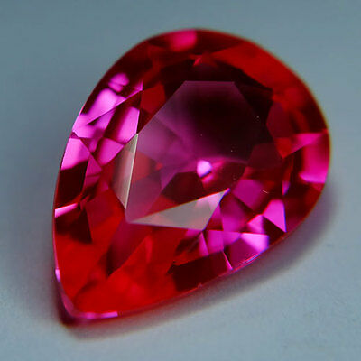 9.50ct.EXCELLENT TOP PINK TOPAZ PEAR LOOSE GEMSTONE
