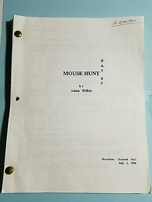 MOUSE HUNT - Script Revisions (Second Set) 7-2-1996 By Adam Ruffin