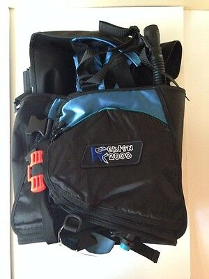 Nekton 2000 SCUBA Dive BCD Large Surelock Weight Integrated BC