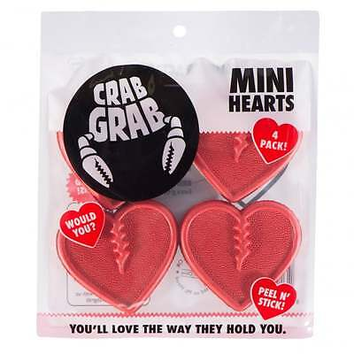 Crab Grab Mini Hearts Red