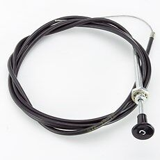 "CLASSIC CAR UNIVERSAL 75"" CHOKE CABLE 190cm LONG MINI MG TRIUMPH BMC 8A5"