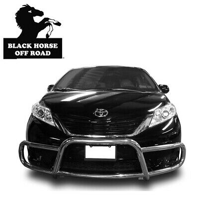 Black Horse Stainless Front Runner Bumper Guard for 2011 2019 Toyota Sienna