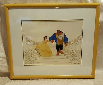 """Beauty and the Beast"" Serigraph / secirel Edition size 2500"