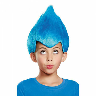 Blue Wacky Wig Child Thing 1 2 Gnome Clown Doll Costume Team Dr. Seuss 90 s cd26fa3f7d