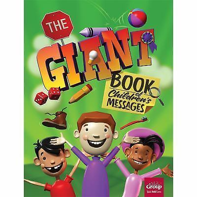The Giant Book of Children's Messages by Group Publishing (2016, Paperback)