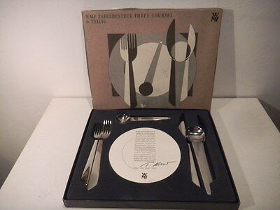 Tafelbesteck flatware Three Courses WMF