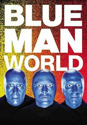 Blue Man World by Blue Man Group (2016, Hardcover)