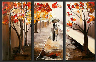 HUGE MODERN ABSTRACT WALL DECOR ART OIL PAINTING ON CANV flowers(no frame)