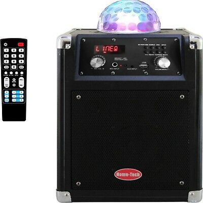 Wireless Bluetooth Party Speakers PA Speaker Karaoke Machine System Disco Light
