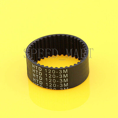 HTD3M-120 Synchronous Wheel Timing Belt 10mm 15mm Width 3mm Pitch 40 Teeth