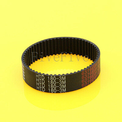 HTD3M-180 Synchronous Wheel Timing Belt 10mm 15mm Width 3mm Pitch 60 Teeth