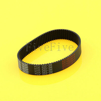 HTD3M-255 Synchronous Wheel Timing Belt 10mm 15mm Width 3mm Pitch 85 Teeth