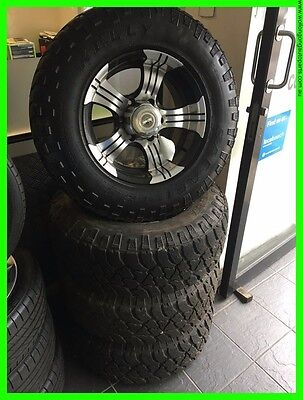 "4WD Wheels & Tyres, Set of 4, 16""x 7"", Colorado, Rodeo, DMax"