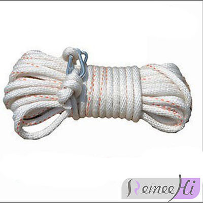 AU stock Safety Escape Rope 50m 2t Bearing Rope for Aerial firefighting Safety