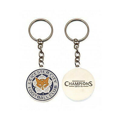 Leicester City Fc Club Crest Metal Keyring Key Ring Keychain New Gift Xmas