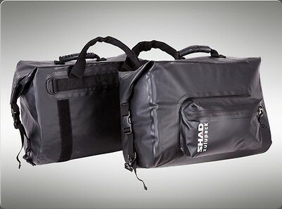 SHAD 42L Saddlebags Panniers Motorbike replaces Wolfman SW-42