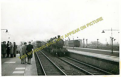 Cholsey to Steventon and Culham Lines 18 GWR. Didcot Railway Station Photo