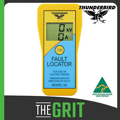 Thunderbird EF5A Electric Fence Tester Fault Locator Finder Remote Tester