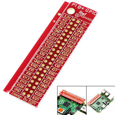 SDA1 SCL1 Distinguish GPIO Pin Reference Board for Raspberry Pi 2 Model B and B+