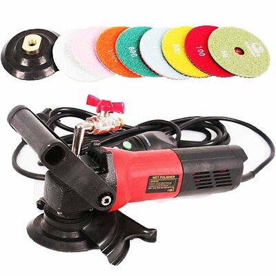 Wet Stone Polisher 900w Professional Grinder Concrete Grinding Machine 220-240v