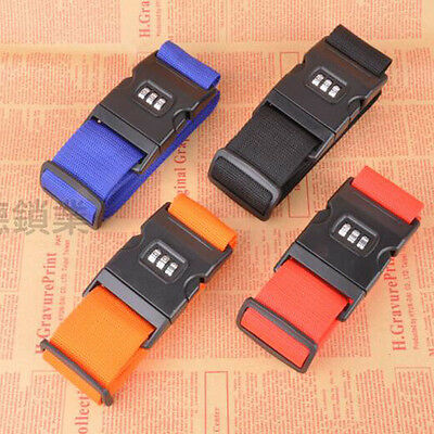 Adjustable Luggage Consignment Straps Packaging Box Reinforcement Password Lock