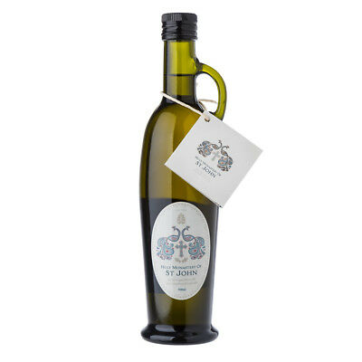 NEW Holy Monastery of St John Extra Virgin Olive Oil 500ml